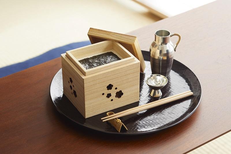 Une boîte en paulownia pour goûter chez vous au meilleur des saveurs d'Edo
