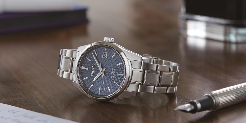 L'esthétique japonaise traditionnelle exprimée dans la modernité d'une montre