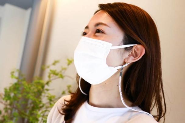 【Ryukobo】Pour porter son masque de manière élégante et confortable au quotidien : un cordon pour masque utilisant des cordelettes tressées traditionnelles.