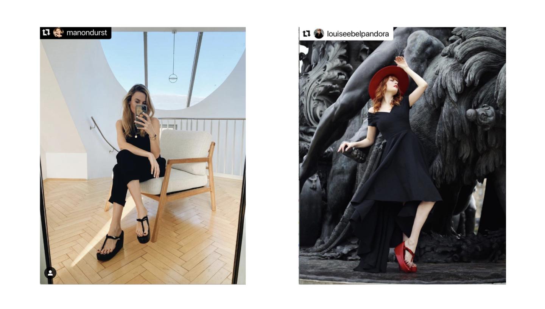 Faire découvrir le charme des élégantes sandales « ZORI » par le biais des influenceurs
